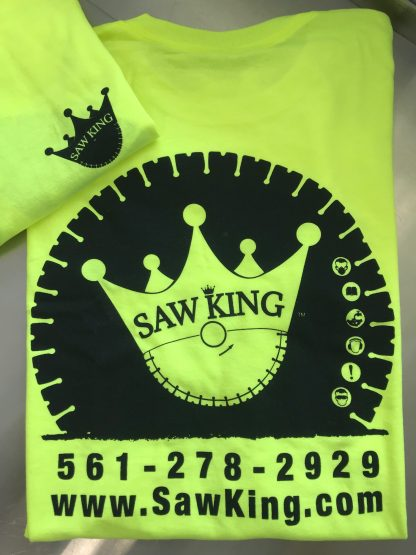 SAW KING HIGH VISIBILITY T-SHIRTS